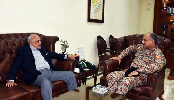 Interior Minister meets DG Rangers