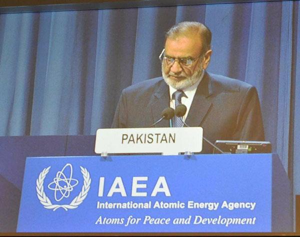 Pakistan lauds IAEA efforts for achieving sustainable development goals