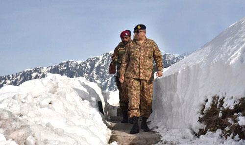No compromise over Kashmir: COAS