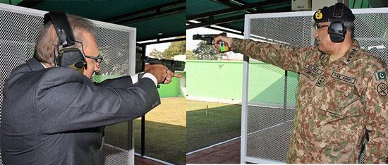 President appreciates shooters excellent marksmanship