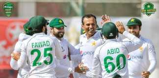 Pak vs SA: Nauman Ali sets bowling record on Test debut (Video)