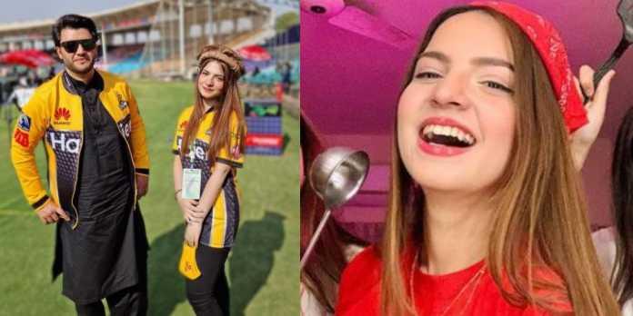 PSL6: #Pawri girl Dananeer joins Peshawar Zalmi