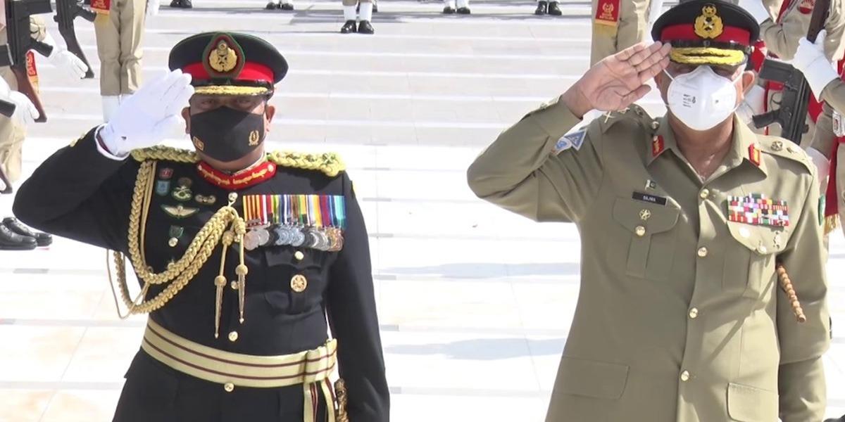 Sri Lanka, Bahrain's top commanders meet Pakistan Army chief