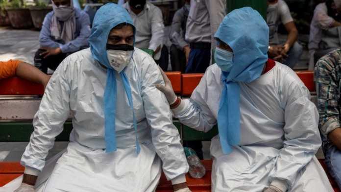 Dozens of bodies found in Ganges