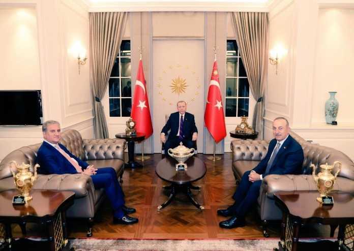 Pakistan, Turkey foreign ministers