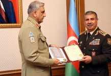 COAS Gen Bajwa, Azerbaijan president discuss military cooperation, regional security