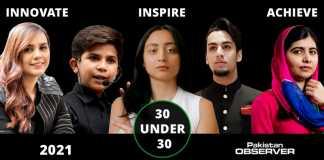 Pakistan Observer 30 under 30