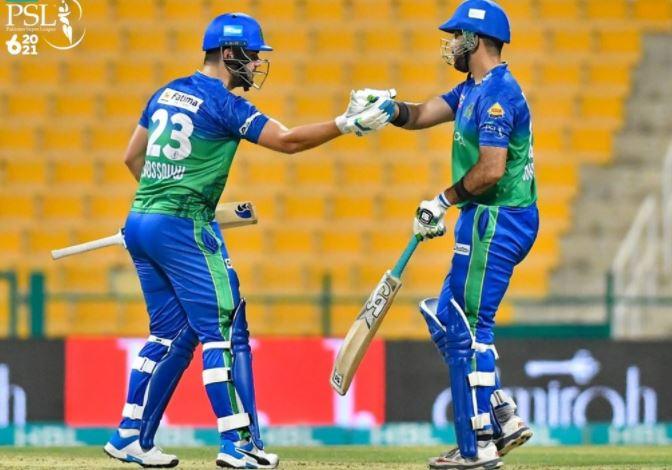 PSL final 2021: Multan Sultan set historic 207-run target for Peshawar Zalmi