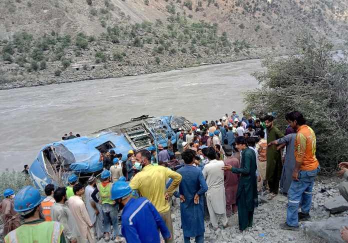 Pakistan: 10 killed in attack near Dasu hydropower plant