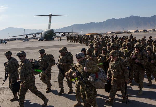 US military departs Afghanistan's Bagram airbase after 20 years