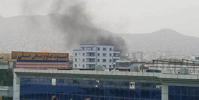 US official says Rocket attack at Kabul airport intercepted