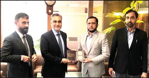 FFC delegation visits Central Depository Company