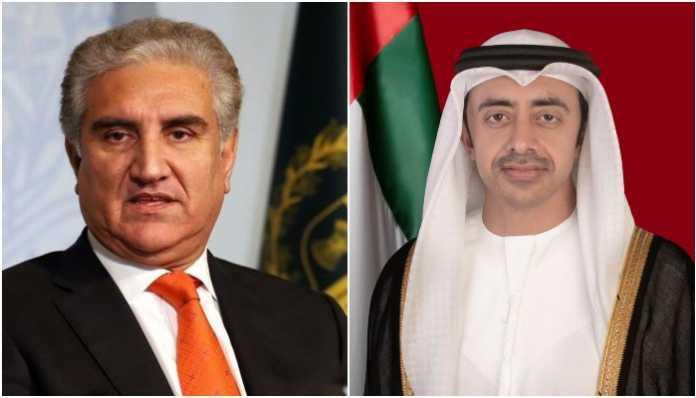 FM Qureshi, UAE counterpart discuss bilateral ties, Expo 2020