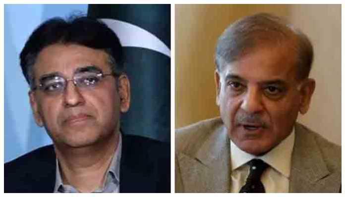 Asad Umar says 'Imran Khan only national leader,', Shehbaz congratulates PML-N